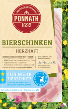 Bierschinken, herzhaft 80 g