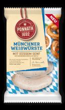Münchner Weißwurst mit süßem Hausmacher Senf 354 g