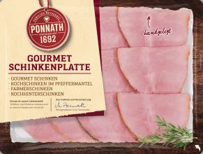 Gourmet Schinkenplatte 150 g