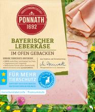 Bayerischer Leberkäse, im Ofen gebacken 100 g