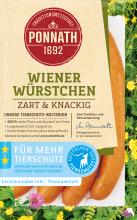 Wiener Würstchen, zart & knackig 160 g
