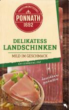 Delikatess Landschinken  mild im Geschmack 80 g